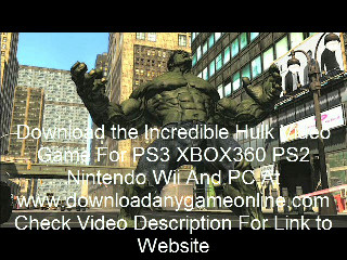 Where To Download The Incredible Hulk 2008 Video Game