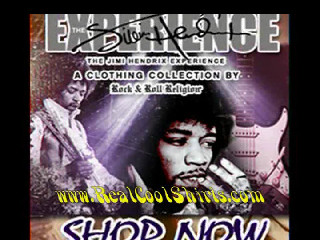 Cool shirts Jimi Hendrix Experience Shirt Collection