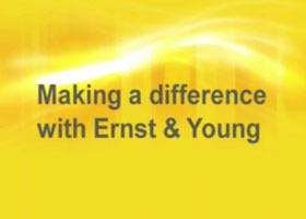 Making a difference with Ernst & Young