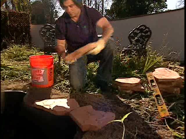 How to Install Water Garden or Pond Edging – The Home Depot