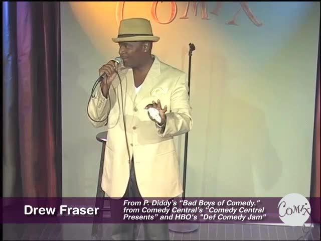 Drew Fraser Live at Comix
