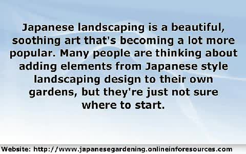 Japanese Landscaping – Creating Authentic Designs