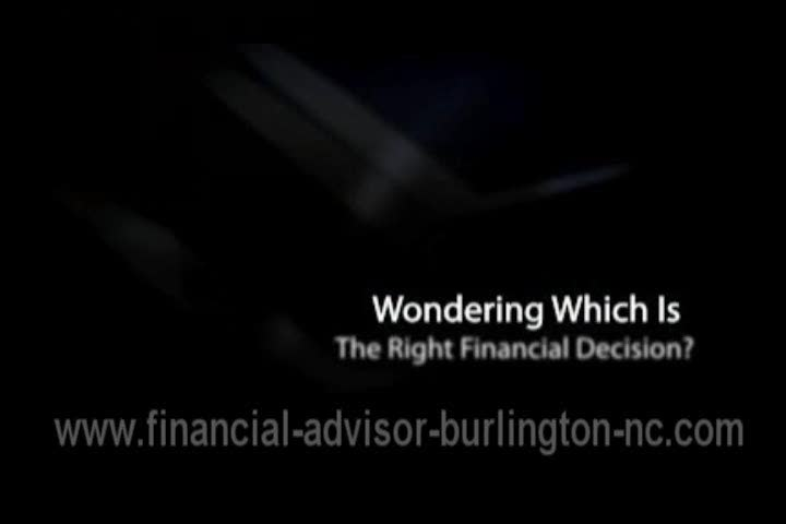 Financial Advisor Burlington North Carolina