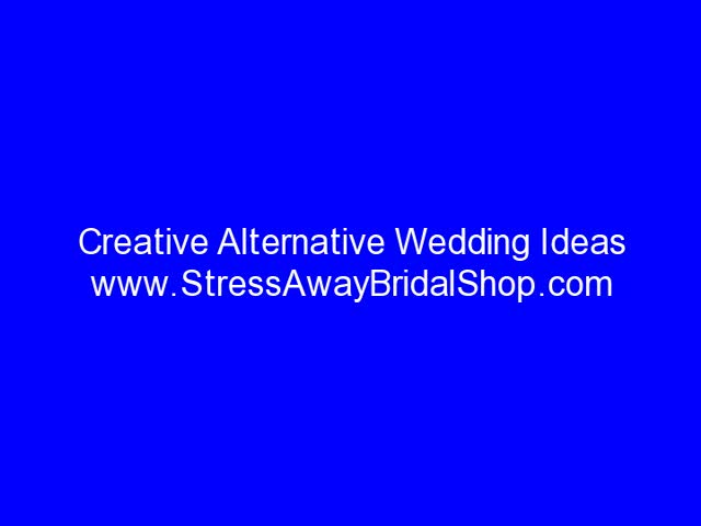 Creative Alternative Wedding Ideas