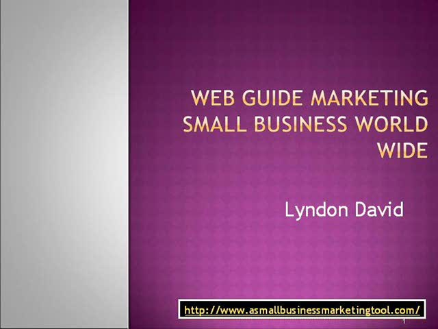 Marketing Small business Worldwide