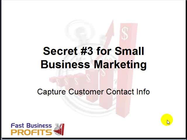 Small Business Marketing Idea