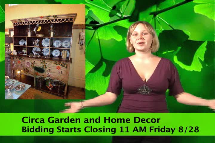 Home  and  Garden  Decor  Store  Auction