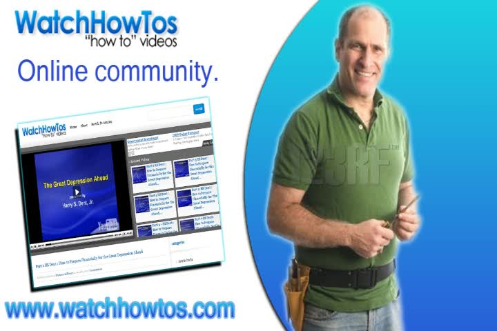 Do it Yourself Videos and Articles (www.watchhowtos.com)