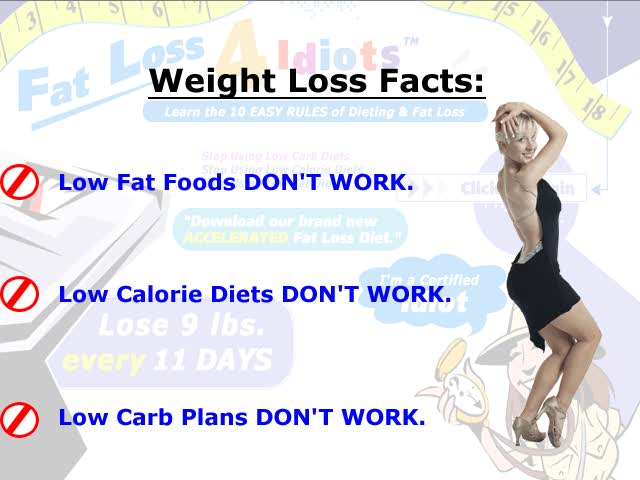 veoh - Fat Loss 4 Idiots - Weight Loss and Diet Center