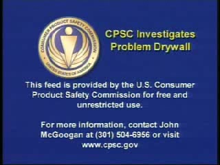 CPSC to Investigate Chinese Drywall in the United States