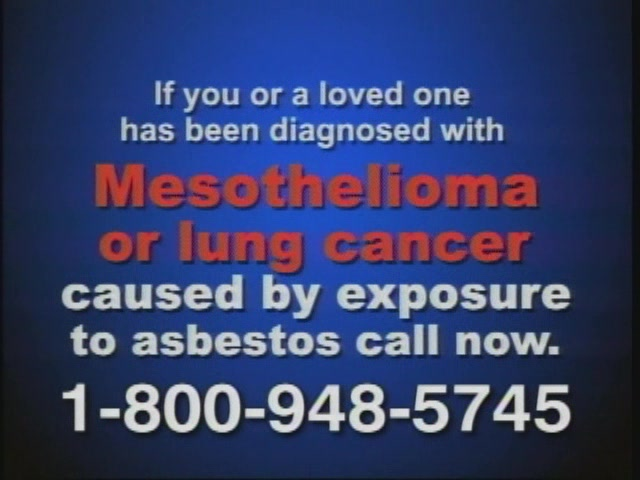 Get Mesothelioma Legal Advice – 800-948-5745