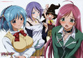 Rosario + Vampire season 1 and 2