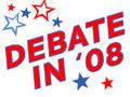 Debate in '08