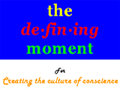 The Defining Moment Televison Talk Show